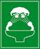 Cartel señalizador de ubicación de lavaojos