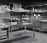 Stainless steel professional furniture
