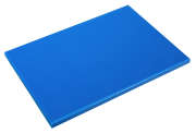 Blue poliethylene high density P500 cutting board