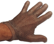 Stainless steel reversible mesh glove Expert model
