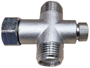 "M-F-M 1/2"" non-return mixing valve"