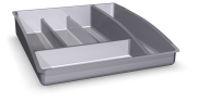 Cutlery organiser for drawers
