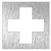 Stainless steel pictogram - First aid box