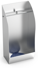 Stainless steel individual urinal