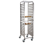 Gastronorm trolleys with 20 levels