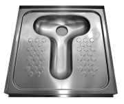 Inox squat toilet