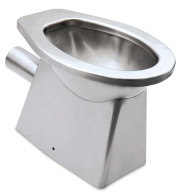 WC inox salida horizontal