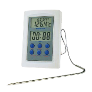 Digital oven thermometer with probe