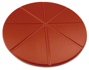 Polyethylene pizza plate