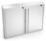 Ozone sterilizing cabinet for knives, 40 knives