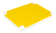 Polyethylene cutting board with 6 different colors