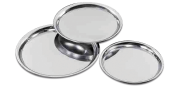 Stainless steel waiter tray