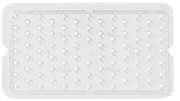 Perforated bottom for container in polypropylene