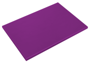 Purple poliethylene high density P500 cutting board