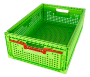 Foldable food basket