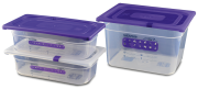 Gastronorm containers for allergen marking