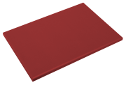 Red poliethylene high density P500 cutting board