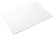 White poliethylene high density P500 cutting board