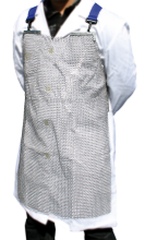 Stainless steel mesh protective apron