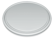 Circular polyethylene steak-boards