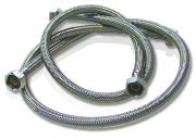 "1/2"" staunless-steel flexible hoses"